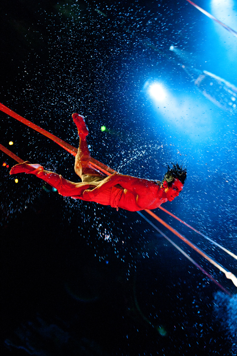 Straps act The House of Dancing Water show at the City of Dreams Macau marketing and promotional shots