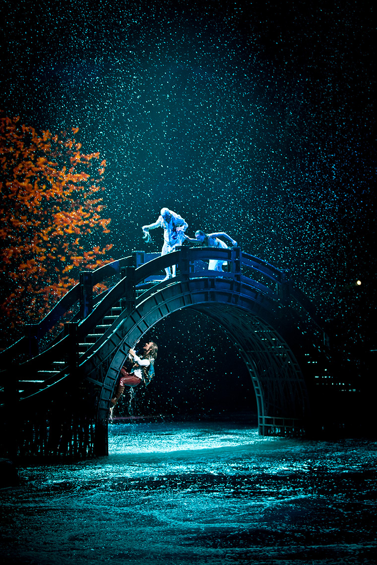 Bridge escape The House of Dancing Water show at the City of Dreams Macau marketing and promotional shots