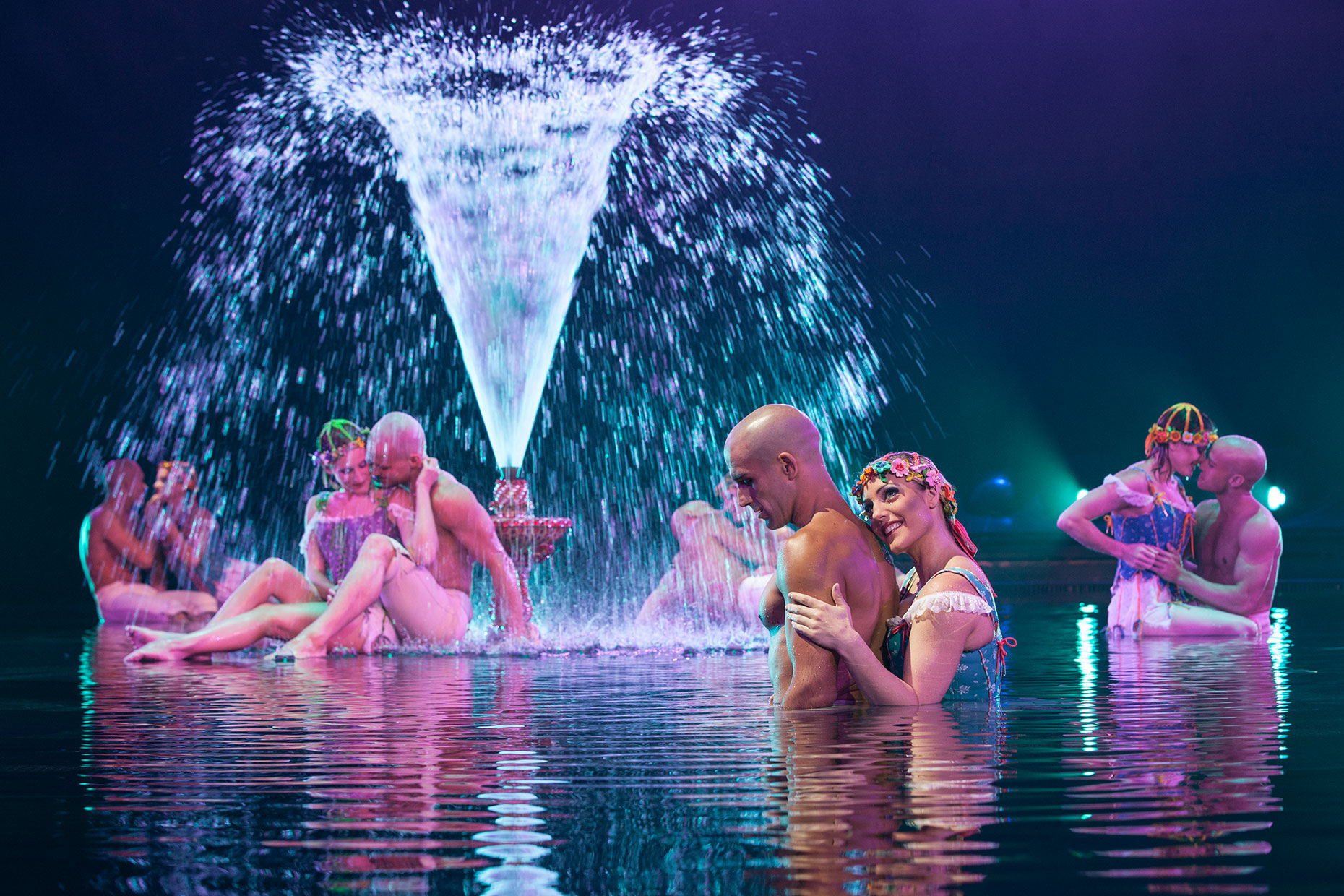 Pettit park Le RÊVE the Dream show At the Wynn Las Vegas Advertising