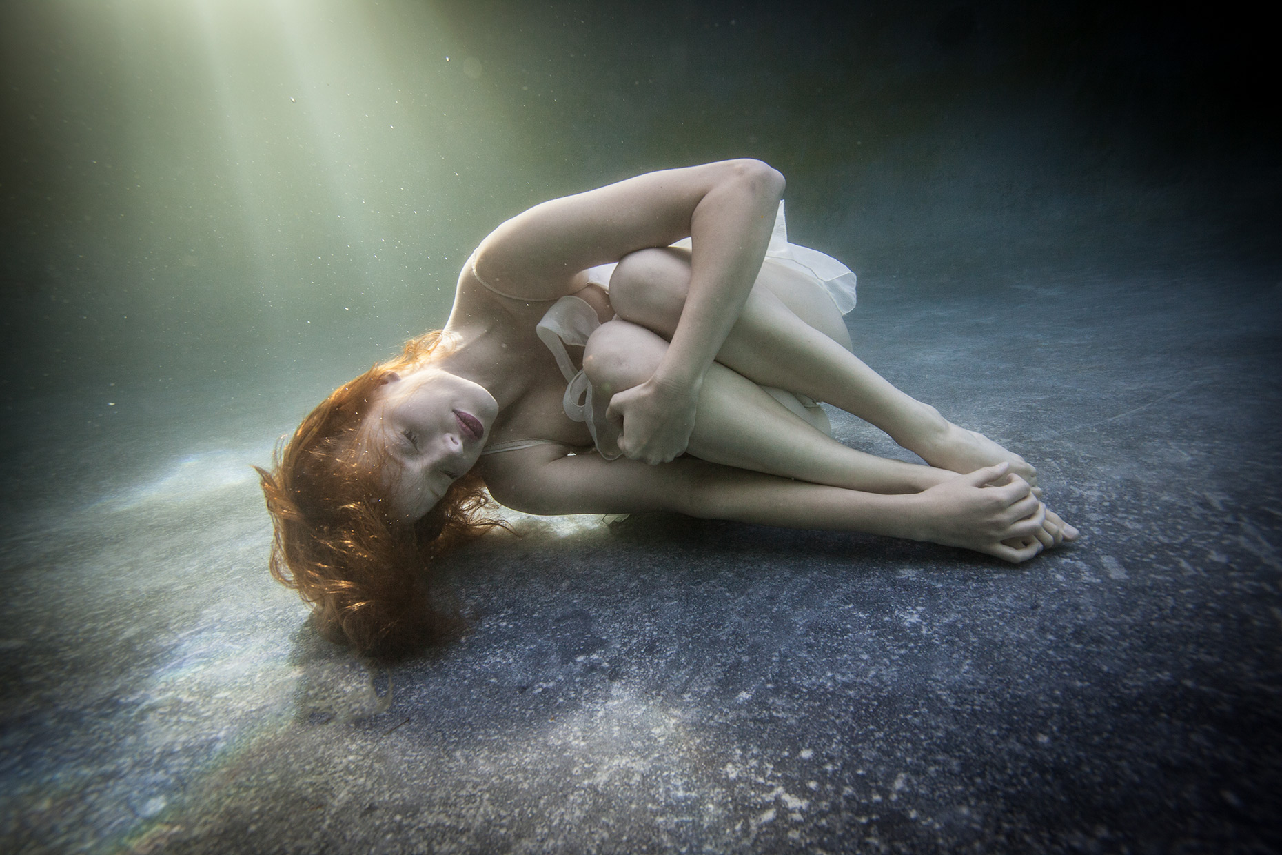 sleeping beauty underwater