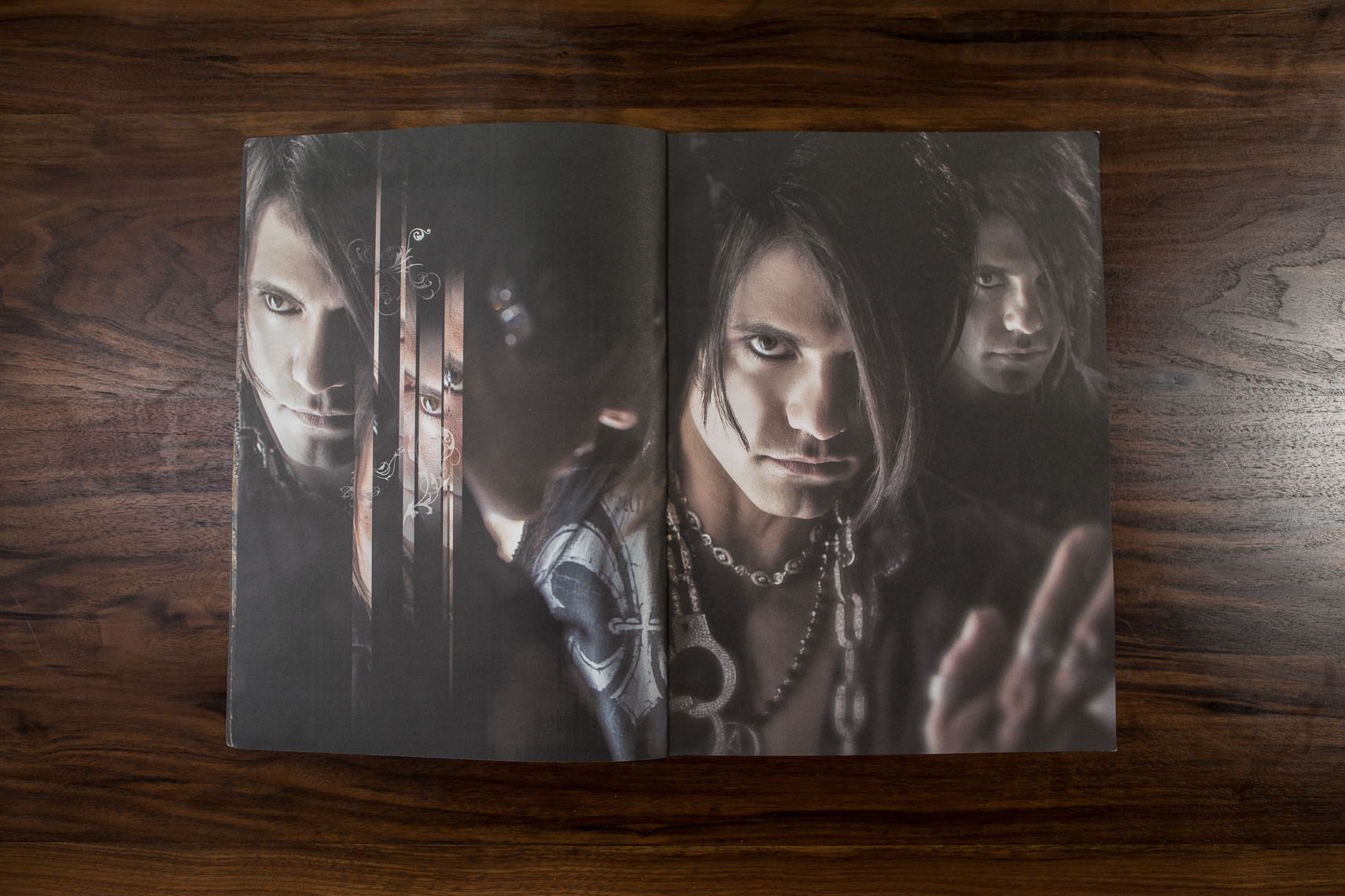 Souvenir program for Criss Angel and Cirque du Soleil